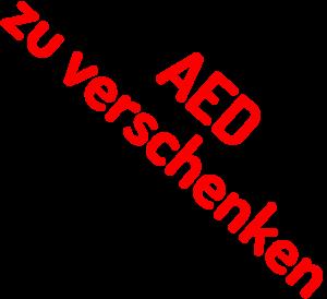 AED zu verschenken